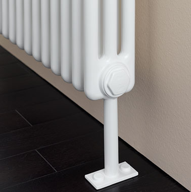 Arbonia Accessories: Floor Mounting for Column Radiators