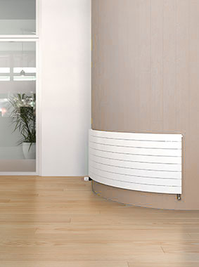 Arbonia Decotherm Plus Radiators, curved