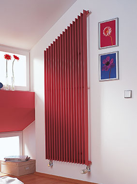 Arbonia Design radiator Arbotherm, inclined