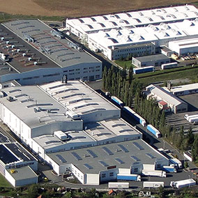 Aerial View of AFG Plant Stribro (CZ)